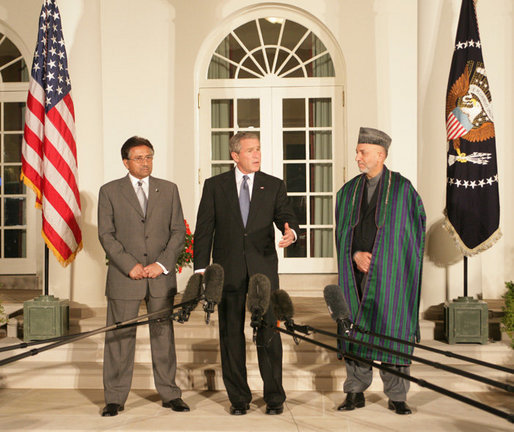 President_Bush_Hosts_Presidents_of_Pakistan_and_Afghanistan_at_the_White_House